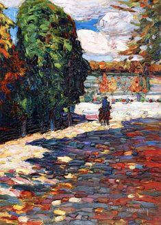 by Wassily Kandinsky