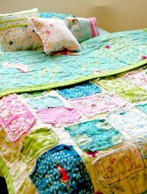 Beneath the Rowan Tree: Handmade Christmas :: DIY American Girl Doll Bed, Bedding and Storage