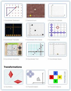 Seriously awesome collection of geometry interactive for middle school