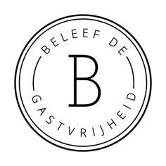 Beleef de gastvrijheid Logo Hospitality, Logos, A Logo, Legos