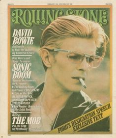 Bowie Rolling Stone Cover Feb 1976
