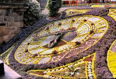 Edinburgh Floral Clock (1978) Awesome!!!