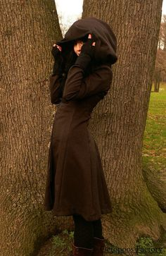Hey, I found this really awesome Etsy listing at https://www.etsy.com/listing/211532851/black-steampunk-coat-elisabetha-brown
