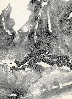 Map Art, Mountain Texture, Topography Map, Local Map, Grey Pattern, Pattern Art, Francis Chan, Texture Drawing, Croquis