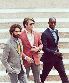 Spring suiting