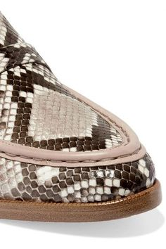 Alexandre Birman - Python Loafers - Snake print - IT