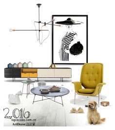 """""""Untitled #35"""" by annie-qiu on Polyvore featuring interior, interiors, interior design, home, home decor, interior decorating, Bomedo, Workstead, Carl Auböck and WALL"""
