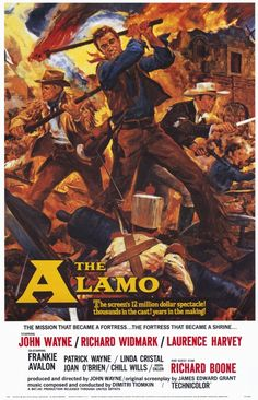 Description de l'image  The Alamo 1960 poster.jpg.