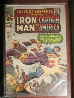 Tales of Suspense #76 Iron Man & Capt. America BATROC 1966 Fine/VF Marvel Comics