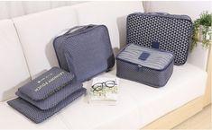 6 Pieces of Travel Storage Bag - The Travel Studio SA