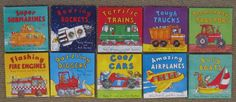 Book Mama: Book Series-- Vehicles for All Ages