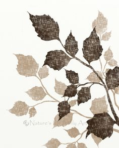 Hey, I found this really awesome Etsy listing at https://www.etsy.com/listing/96864197/birch-tree-leaves-8-x-10-art-print