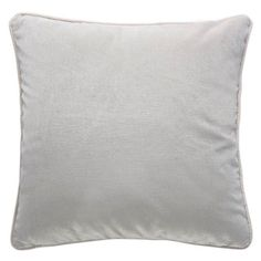 Pebble Grey Velvet Cushion (66 CAD) ❤ liked on Polyvore featuring home, home decor, throw pillows, grey home decor, gray throw pillows, velvet accent pillows, velvet throw pillows and grey throw pillows