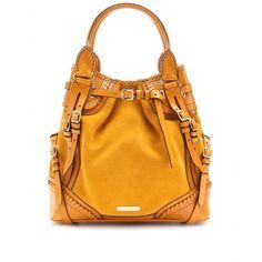 mytheresa.com - Burberry Prorsum - MEDIUM SUEDE WHIPSTITCH BAG - Luxury Fashion for Women / Designer clothing, shoes, bags