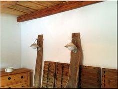 loft lakberendezés, antik lámpa, bauhaus lámpa eladó, antik lámpa eladó! - Antik bútor, egyedi natúr fa és loft designbútor, kerti fa termékek, akácfa oszlop, akác rönk, deszka, palló Industrial Loft, Wabi Sabi, Rustic Furniture, Vintage Designs, Ladder Decor, Shelves, Home Decor, Shelving, Decoration Home