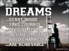 are achievable