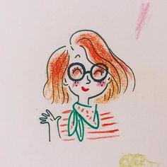 Hi  #sketchbook by marygribouille