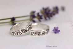 Folk weding rings