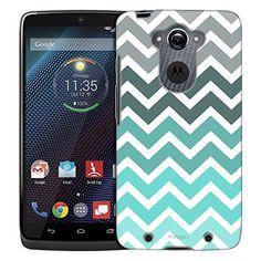 Motorola Droid Turbo Case, Slim Fit Snap On Cover by Trek Chevron Grey Green Turquoise White Trans Case TrekCases http://www.amazon.com/dp/B00VESFF2A/ref=cm_sw_r_pi_dp_xF4Awb15G70V4