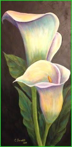 I love the subtle rainbow pastel colors. x calla lily acrylic paint&; I love the subtle rainbow pastel colors. x calla lily acrylic paint&; Lily Painting, Painting & Drawing, Watercolor Flowers, Watercolor Paintings, Acrylic Painting Flowers, Pastel Art, Pastel Colors, Calla Lily, Cala Lilies