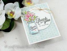 Houses Built of Cards: Floral Arrangement Trio - Simon Says Stamp August Card Kit