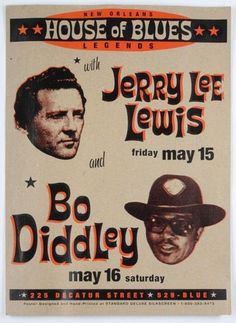 Jerry Lee Lewis & Bo Diddley - New Orleans House of Blues