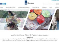 CBI New Website goes on-line, great business opportunities in home deco & textiles www.cbihomelifestyle.com