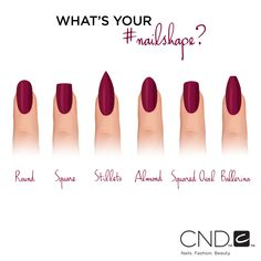 Which nail shape do you prefer when you get a manicure?