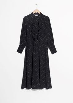& Other Stories   Star Frill Dress