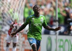 Eddie Johnson scored 2 goals against Chivas USA on September 8th in Seattle.