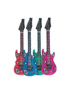 Celebrate with the Inflatable Guitar for your Rock Star party. Find amazing selections & prices on all birthday party & supplies at Birthday in a Box. Guitar Decorations, Lollipop Party, Rock Star Party, Birthday Box, Star Girl, Party Time, Party Supplies, Staar Test, Balloons