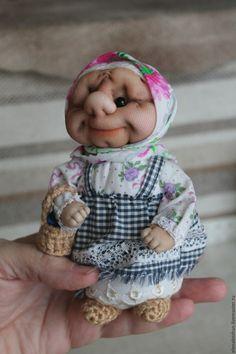 Персональные подарки ручной работы. Бабушка. Бабулечка. Елена Кожан. Куклы и игрушки.. Ярмарка Мастеров. Подарок подруге, кукла из капрона