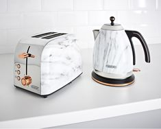 B&M is selling a marble effect kettle and toaster – and they're both in the . B&M is selling a marble effect kettle and toaster – and they're both in the sale, Cool Kitchen Gadgets, Kitchen Items, Home Decor Kitchen, Kitchen Utensils, Cool Kitchens, Kitchen Design, Kitchen Supplies, Espresso Bar, Copper Kitchen