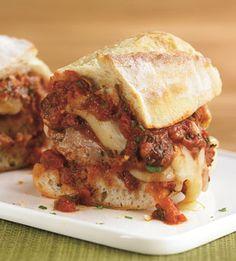 Italian Sausage Meatball Heroes