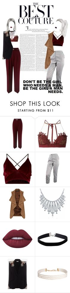"""""""That Woman"""" by mickie-pcosta ❤ liked on Polyvore featuring Miss Selfridge, For Love & Lemons, Vivienne Westwood, Dorothy Perkins, Bling Jewelry, Lime Crime, Alexander McQueen and Humble Chic"""