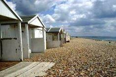 Worthing beach huts
