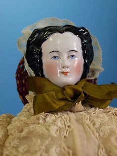 """China Doll   Looks like she is just out of the movie """"Gone with the Wind!"""""""