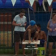 Christians first swim meet 2012