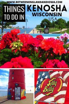 Fun Things to do in Kenosha Wisconsin USA Wisconsin Attractions, Wisconsin Vacation, Kenosha Wisconsin, Stuff To Do, Things To Do, Travel Usa, Travel Tips, Travel Ideas, Sea To Shining Sea