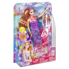 Barbie and the Secret Door 2-in-1Transforming Mermaid Romy Doll NEW IN BOX