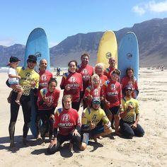 Hoy buen día de #surf con nuestros alumnos en la #playa de #Famara  #surflanzarote #surfcanarias #surfteguise #teguisesurf #lanzarote #famara #isla #islascanarias #lasantasurf #lasantasurfprocenter #surfcamp #surfcamplanzarote #camp #surflessons #surfschool http://ift.tt/SaUF9M