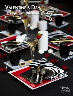 Valentine's Day Couples' Dinner Party! | Smarty Had A Party