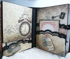 Heartfelt Creations Once Upon a Time Mini Album - Scrapbook.com