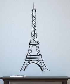 Eiffel wall decal