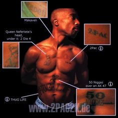 2 Pac Tattoo Pictures