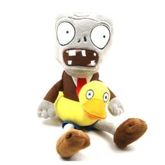 Ducky Tube Zombie Plush Plants vs Zombies Toys Polypropylene Doll for Kids 28cm @ niftywarehouse.com #NiftyWarehouse #Geek #Horror #Scary #Halloween