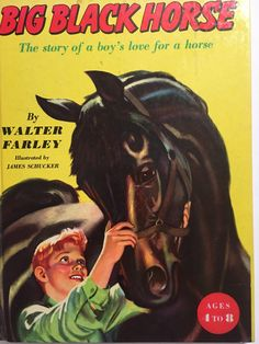 A personal favorite from my Etsy shop https://www.etsy.com/listing/491947116/big-black-horse-book-walter-farley-james