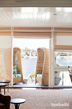 A California Beach Cottage Makeover  - HouseBeautiful.com