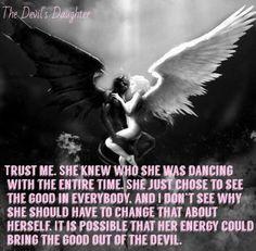 love Black and White fire edit digital art angel devil Photo Manipulation Devil Quotes, Angel Quotes, Angel Devil Tattoo, Angel And Devil, Fallen Angel Tattoo, Dark Fantasy Art, Dark Art, Angels And Demons Quotes, Dark Love Quotes