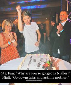 Duh! Haha His mom is sooo pretty and his dad is handsome so its no wonder that he is GORGEOUS!!!